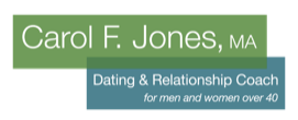 Over 40 Dating & Relationships Coach Logo